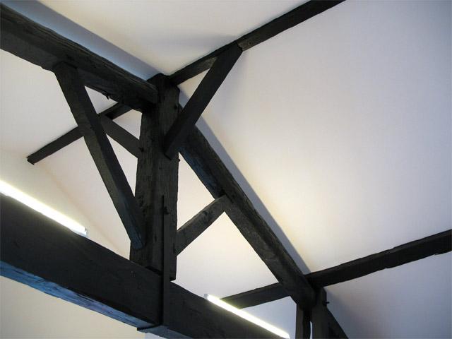Les travaux de la rue de la rousselle for Plafond peint en noir